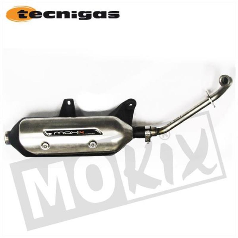 Uitlaat Piaggio 125, 150, 200 Tecnigas Maxi-4N E-keur