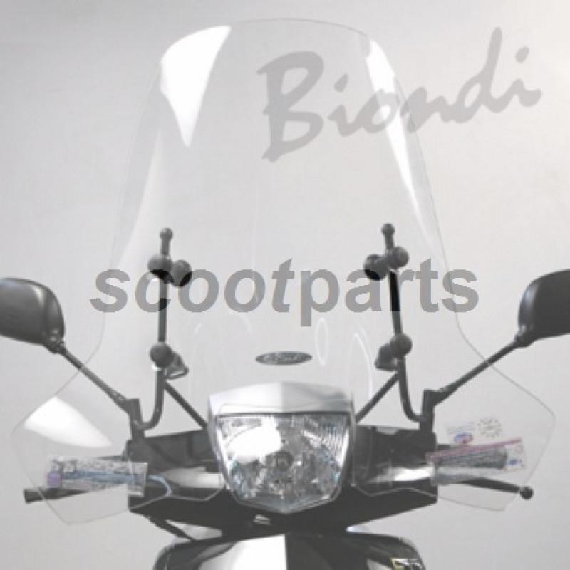 Windscherm Biondi Z-line Peugeot New Vivacity vanaf 2009
