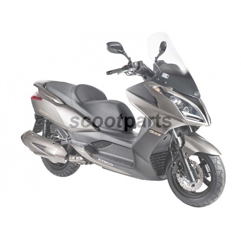 Windscherm Kymco Downtown 300i hoog