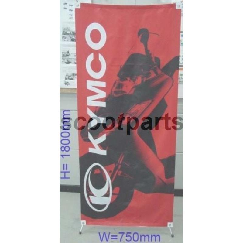 Winkel standaard banner KYMCO