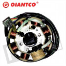Ontsteking - Stator China 4T GY6 125cc Giantco kaal