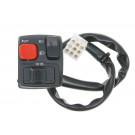 Stuurschakelaar links Knipperlicht, grootlicht, verlichting, claxon voor Motorhispania RYZ Eco, YR11