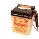 Accu 6N4-2A-7 Honda MT, MB, Suzuki (7x9.5x7cm ) 6 Volt / 2 Ampere