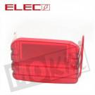 achterlicht Glas Honda MT, MB rood