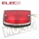achterlicht Glas Honda MTX-ot, MTX-SH inbouw rood