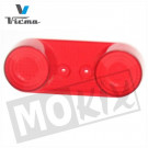 Achterlicht glas Honda SFX rood