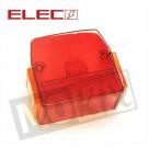 Achterlicht glas Puch Maxi GROOT model Elec