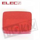 achterlicht Glas Puch Maxi klein model rood