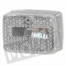 Achterlicht Puch Maxi klein model blank compleet
