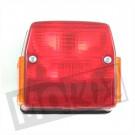 Achterlicht Puch Maxi nieuw model 2 speed zwart