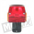 Achterlicht Puch Maxi nieuw model zwart
