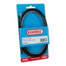 Rem kabelkit Elvedes 1700mm / 2250mm 2 nippels verzinkt - zwart (op kaart)