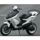 Aanbieding: Achterscherm buddyseat Yamaha Aerox Wit BCD