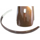 Achterspatbord 26-28 inch metallic bruin