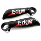 Bar ends Edge full carbon recht 115mm
