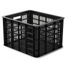 Fietskrat Basil Crate Medium 33 liter - zwart