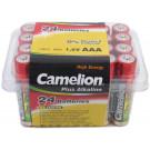 Batterij 1.5V penlite 'AAA'   doos van 24 stuks