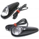BEATLE-LIGHTS ZWART/WI-LAMP/WIT-LENS