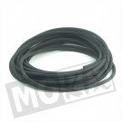 Benzineslang 4 x 7mm 10meter rubber zwart