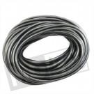 Benzineslang 5 x 8mm 19 meter rubber zwart