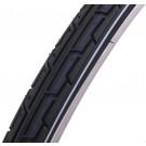 Buitenband 28 inch /37-622 mm zwart -witte lijn standaard (Fiets)