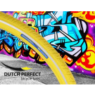 Buitenband 40-622 / 28 x 1 3/8   inch geel Reflex No-Puncture, Dutch Perfect (Fiets)