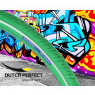 Buitenband 40-622 / 28 x 1 3/8 inch  groen Reflex No-Puncture, Dutch Perfect  (Fiets)