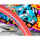 Buitenband 40-622 / 28 x 1 3/8  inch rood Reflex No-Puncture, Dutch Perfect (Fiets)