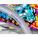 Buitenband 40-622 / 28  x 1 3/8  inch grijs Reflex No-Puncture, Dutch Perfect (Fiets)