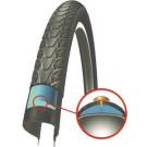 "Buitenband Schwalbe Marathon Plus SmartGuard 28x1 1/2"" / 40-635 mm - zwart met reflectie (Fiets)"""