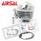 Aanbieding: Cilinder Peugeot Buxy, SV, TKR, Speedfight verticaal AC 70cc Airsal T6  luchtgekoeld 70cc 47.6mm T6 Airsal