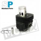 Cilinder Minarelli 100cc 52.00mm  compleet Standard Parts
