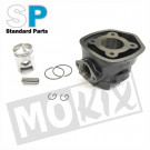 Cilinder Piaggio scooter nm, watergekoeld 50cc 40.0mm compleet 50cc 40.0mm Standard Parts