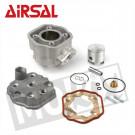Aanbieding: Cilinderkit  Derbi Senda vanaf 2006 80cc 50.0mm LC (Vertex zuiger) Airsal