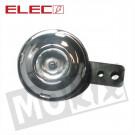 CLAXON 6V KLEIN MODEL RING 70mm CP ELEC