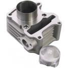 Cilinder aluminium Sym / Peugeot 4takt