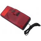 Drager Achterlicht ATB  met kabel 80mm boutafstand