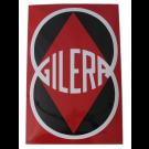 Emaille bord Gilera 40x60cm
