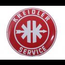 Emaille bord Kreidler Service ø50cm