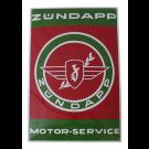 Emaille Bord Zundapp Service 40x60cm