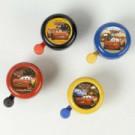 Fietsbel Widel Cars 2 gelakt in 4 kleuren