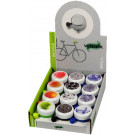 Fietsbel Widek White Collection - staal