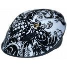 Fietshelm Bikefun zwart/wit