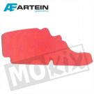 FILTERFOAM PIAGGIO LX/FLY 50/125cc 4T PRO RED