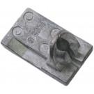 Gasschuif Dellorto SHA-12/13mm 740564