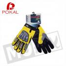 Handschoenen Mokix Cross geel