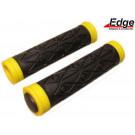 Handvat set ATB zwart/geel Edge