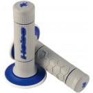 Handvatset Hebo honneycomb soft blauw