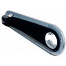 Kettingkast - Kettingscherm Woerd Snapper, transparant-zwart