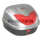 Topkoffer - bagagebox 33 liter zilver